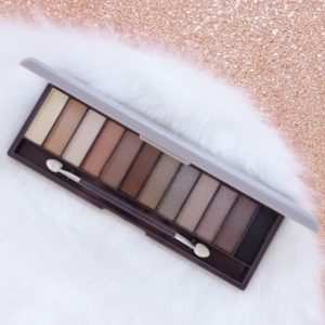 Kozmetika Lovely Nude Make Up Kit Eyeshadow Palette