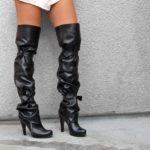 Ženske čizme za duljinu koljena