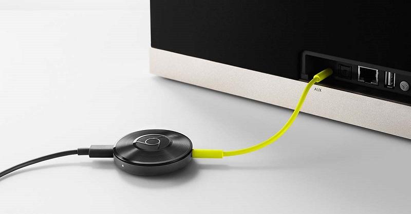 Uređaj Chromecast morate spojiti na TV.